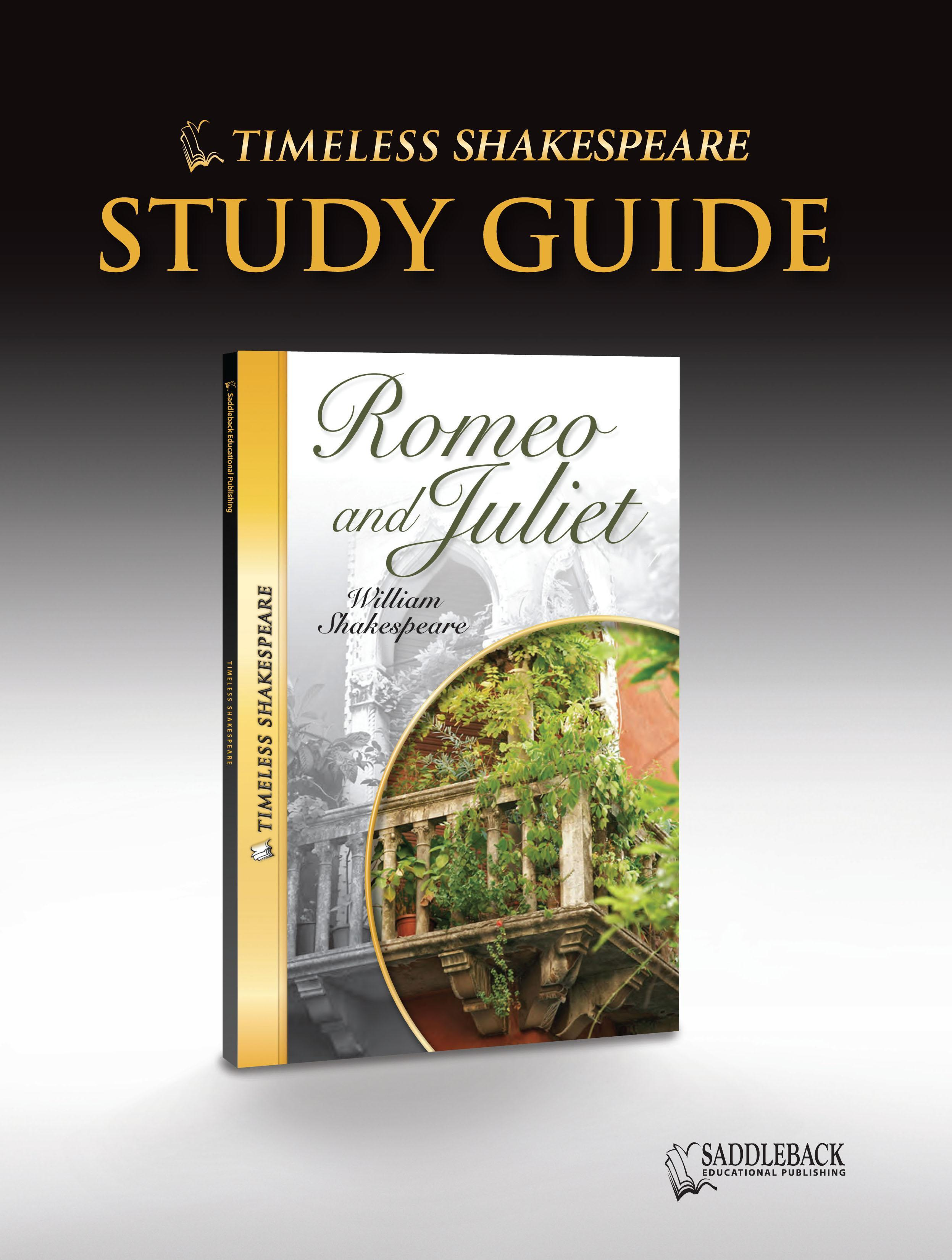 Romeo and Juliet Study Guide EB9781602918979