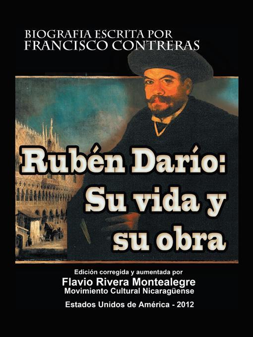 Ruben Dario: Su Vida y su Obra EB9781469779614
