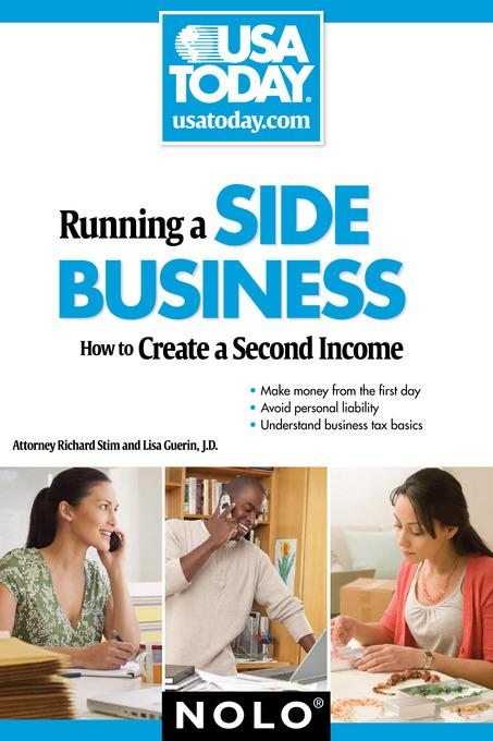Running a Side Business: How to Create a Second Income EB9781413315554