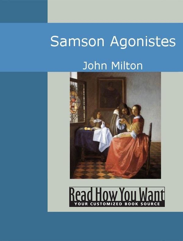 Samson Agonistes EB9781442941830