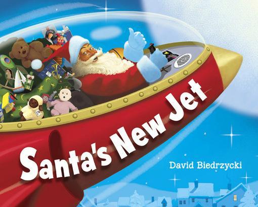 Santa's New Jet EB9781607343691