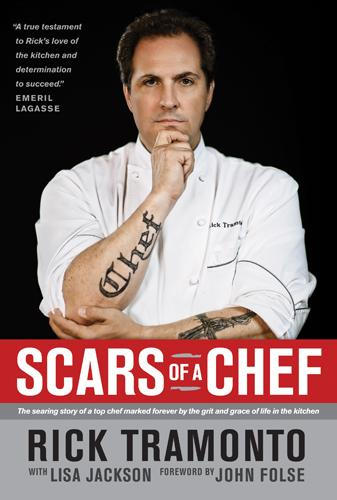 Scars of a Chef: The Searing Story of a Top Chef Marked Forever by the Grit and Grace of Life in the Kitchen EB9781414352190