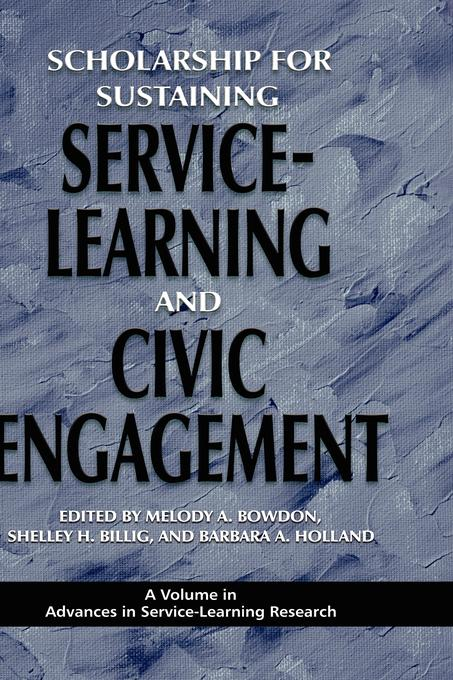 Scholarship for Sustaining Service-Learning and Civic Engagement EB9781607529576