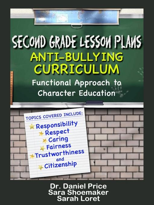 Second Grade Lesson Plans: Anti-bullying Curriculum EB9781619840898