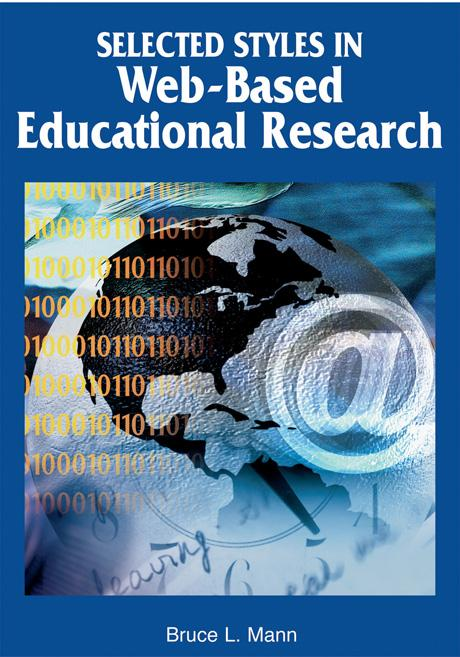 Selected Styles in Web-Based Educational Research EB9781591407348