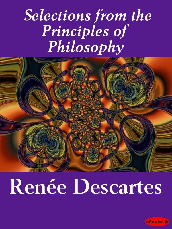 Selections from the Principles of Philosophy EB9781412183192