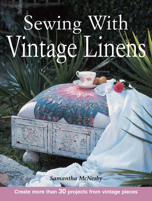 Sewing With Vintage Linens EB9781440220159