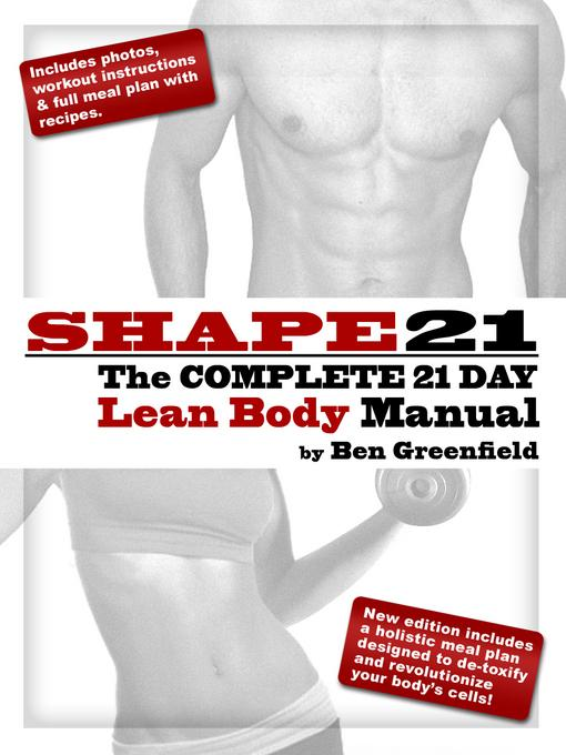 Shape21: The Complete 21 Day Lean Body Manual EB9781619841413
