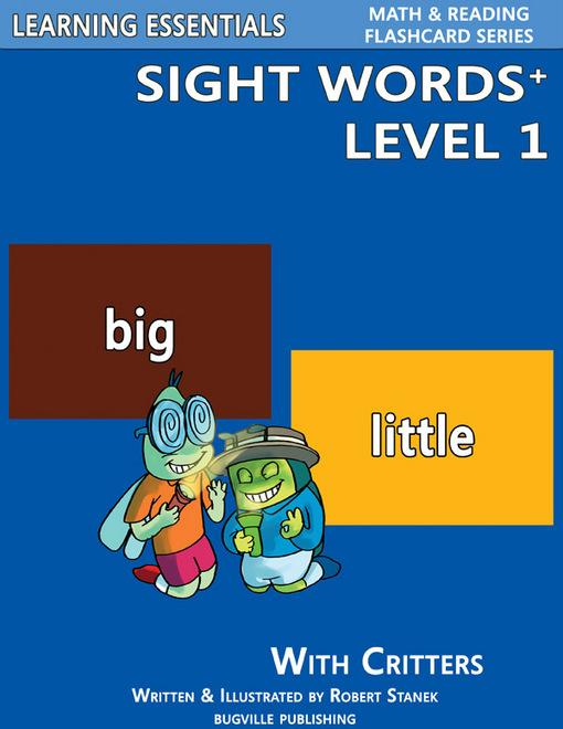 Sight Words Plus Level 1: Sight Words Flash Cards with Critters for Pre-Kindergarten & Up EB9781575452852