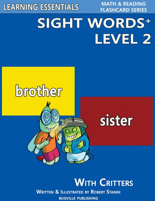 Sight Words Plus Level 2: Sight Words Flash Cards with Critters for Kindergarten & Up EB9781575452869