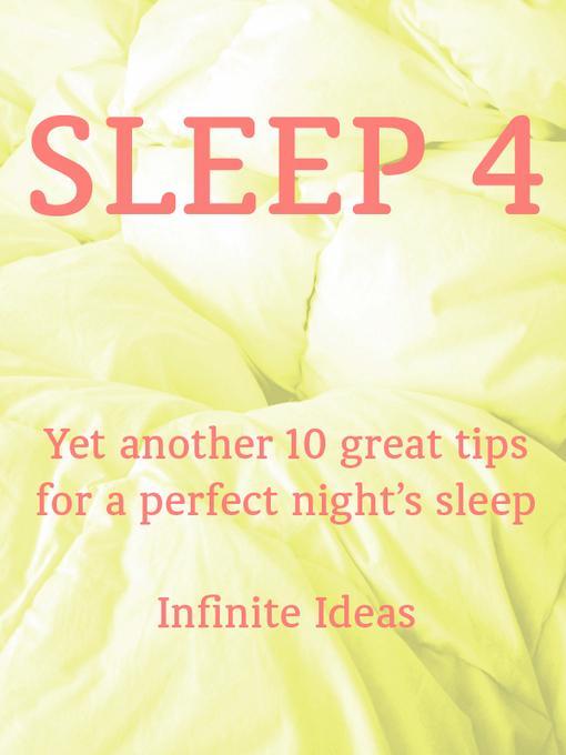 Sleep 4 EB9781908189301