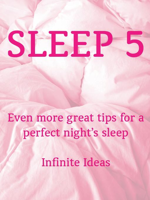 Sleep 5 EB9781908189318