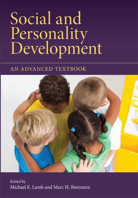 Social and Personality Development EB9781136699658
