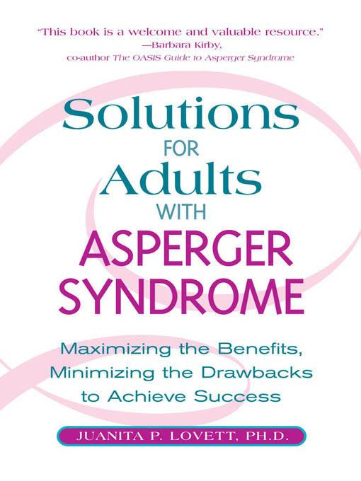Solutions for Adults with Asperger's Syndrome EB9781610580007