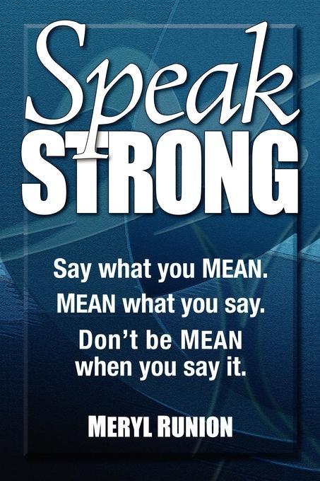 Speak Strong EB9781600378720
