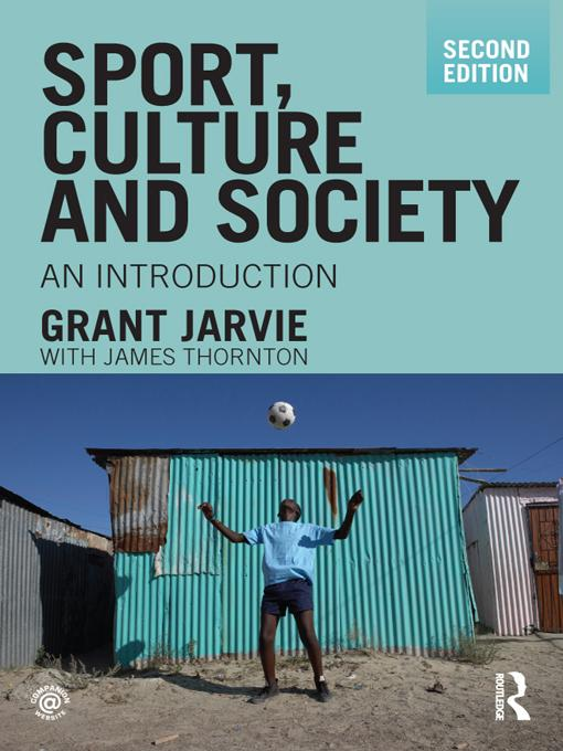 Sport, Culture and Society EB9781134020553