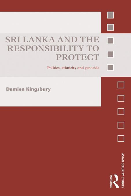Sri Lanka and the Responsibility to Protect EB9781136639975