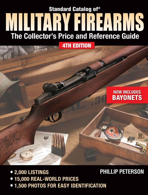 Standard Catalog of Military Firearms: The Collector's Price and Reference Guide EB9781440230462