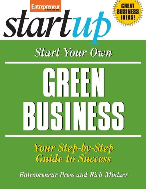 Start Your Own Green Business EB9781613080764