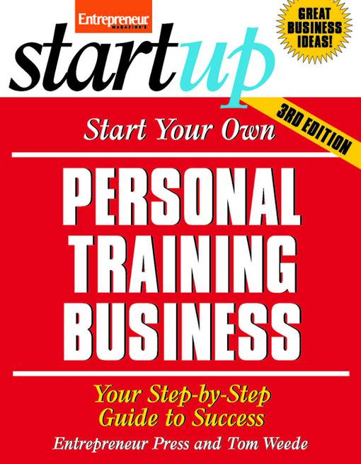 Start Your Own Personal Training Business EB9781613081754