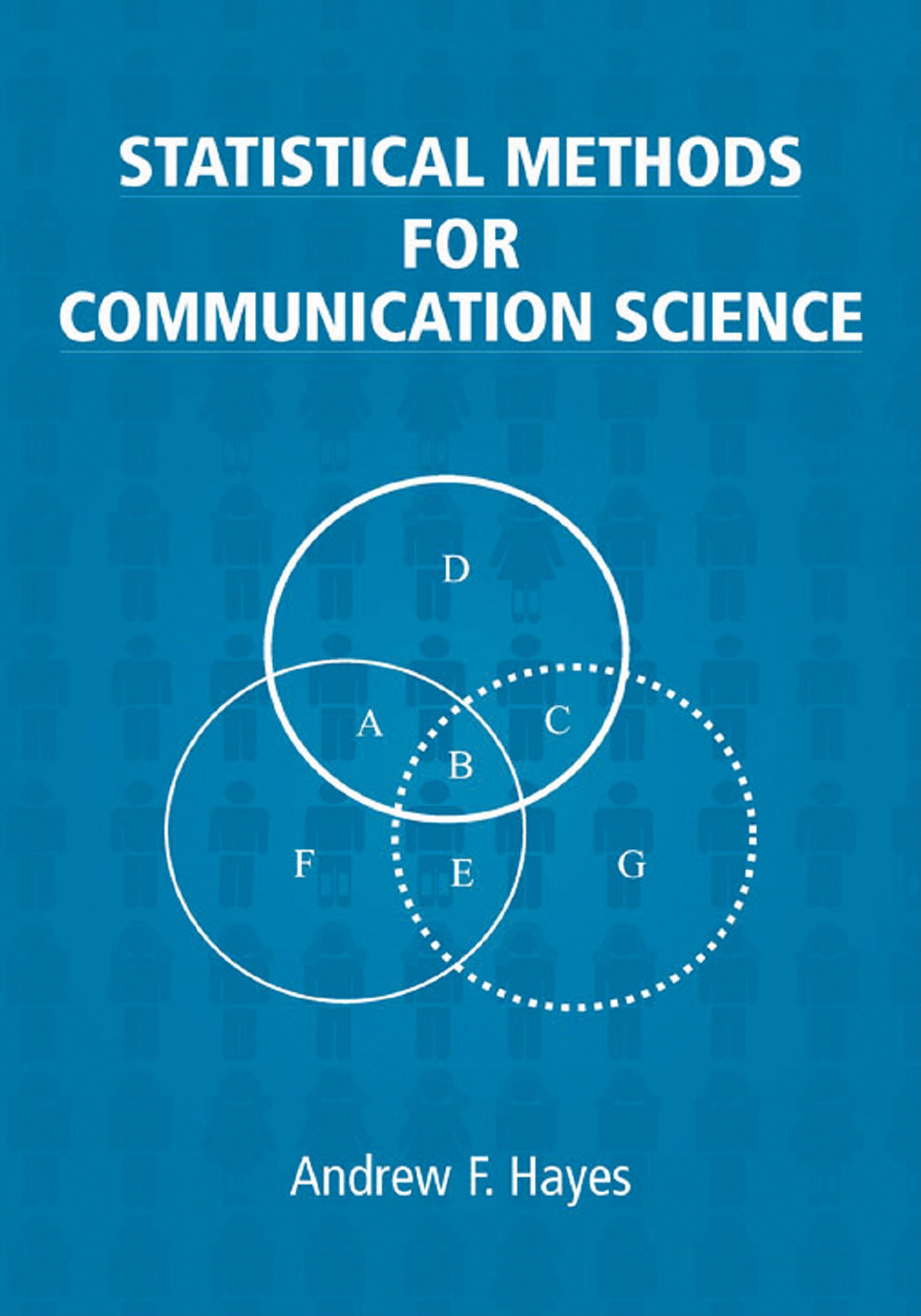 Statistical Methods for Communication Science EB9781410613707