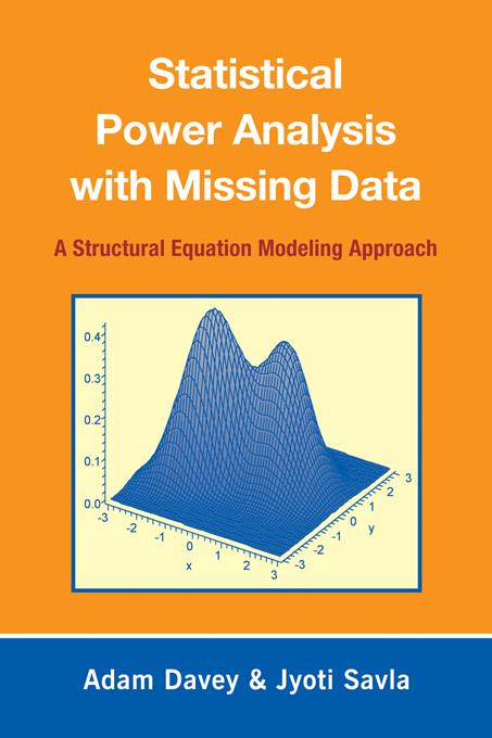 Statistical Power Analysis with Missing Data EB9781135269302