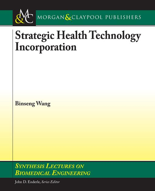 Strategic Health Technology Incorporation EB9781608451258