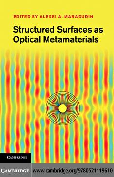 Structured Surfaces as Optical Metamaterials EB9781139005906