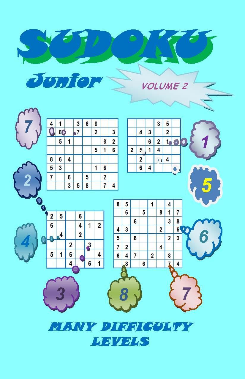 Sudoku Junior, Volume 2 EB9781614260233