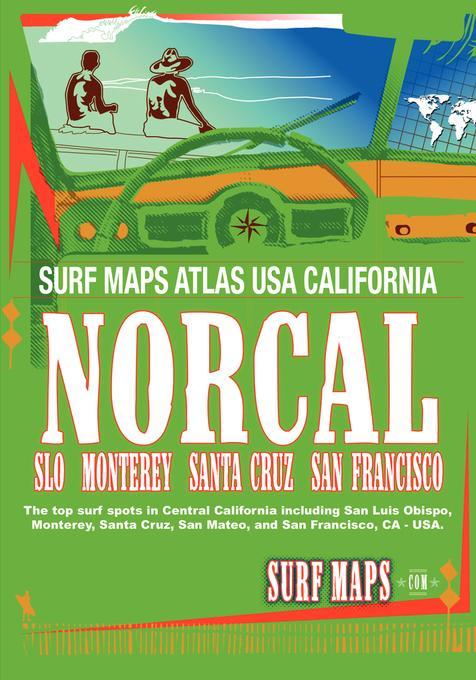 SurfMaps USA NorCal EB9781607461746