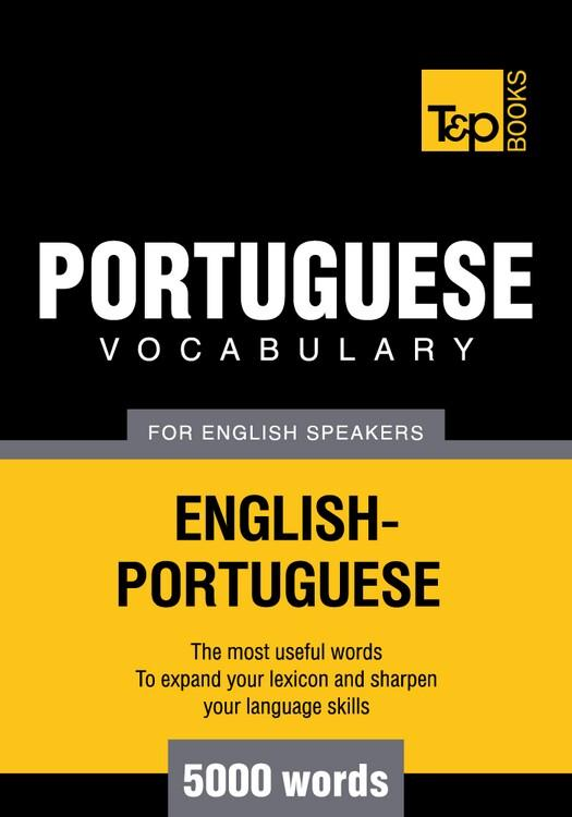 T&P English-Portuguese vocabulary 5000 words EB9781780710372