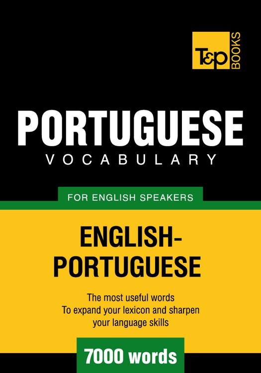 T&P English-Portuguese vocabulary 7000 words EB9781780712895