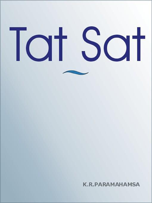 TAT SAT EB9781590958865