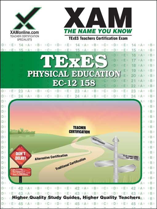 TExES PHYSICAL EDUCATION EC-12 158 EB9781607879459