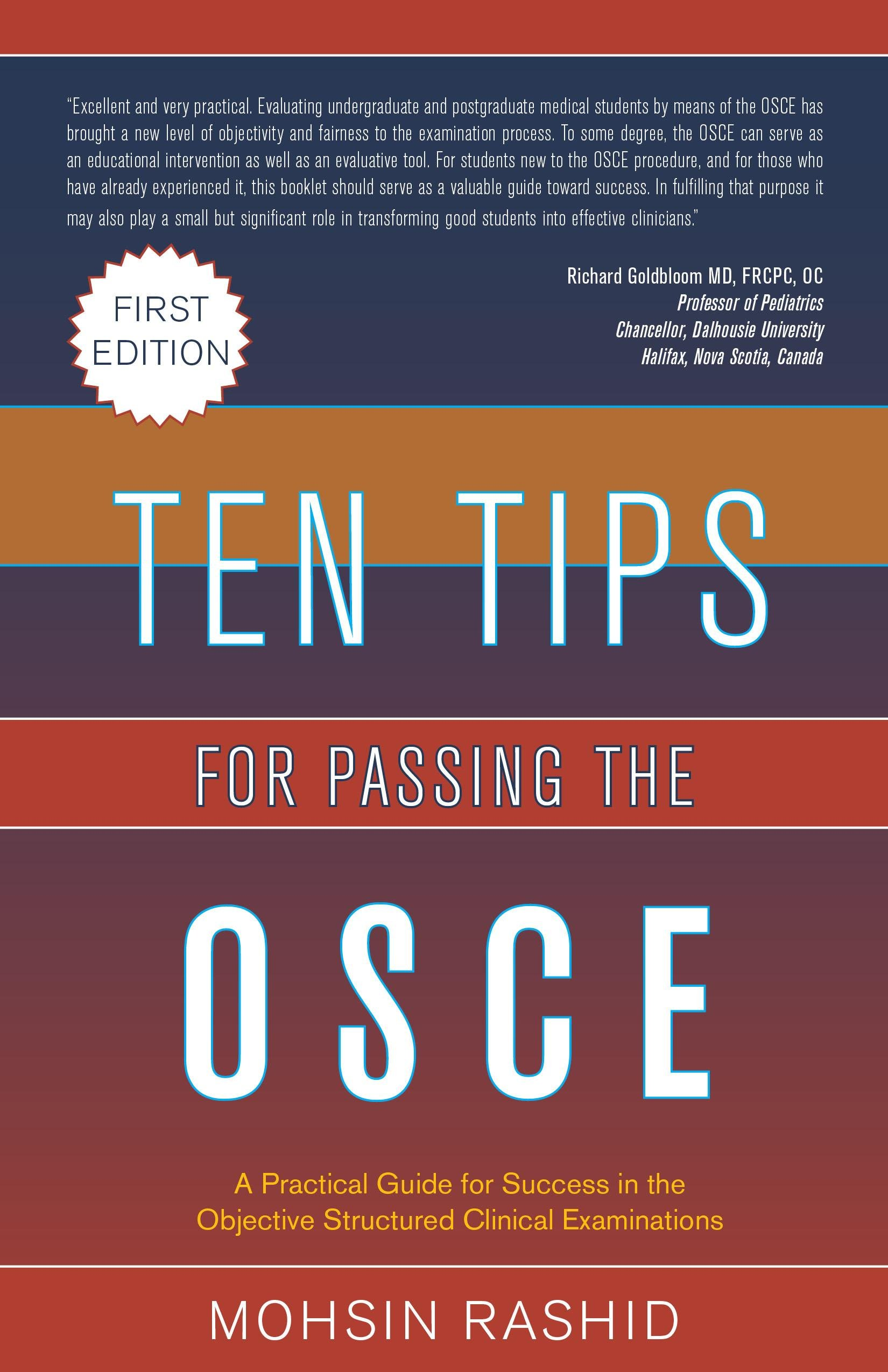 Ten Tips for Passing the OSCE EB9781770973947