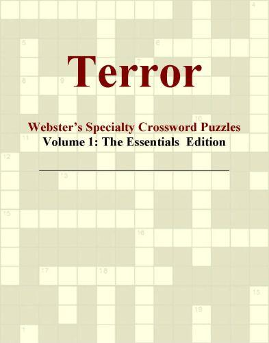 Terror - Webster's Specialty Crossword Puzzles, Volume 1: The Essentials  Edition