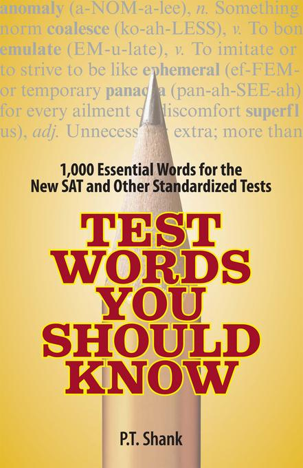 Test Words You Should Know EB9781440517839