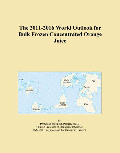 The 2011-2016 World Outlook for Frozen Concentrated Juices Other Than Orange Juice Icon Group International
