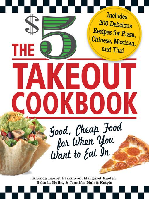The $5 Takeout Cookbook EB9781440526022