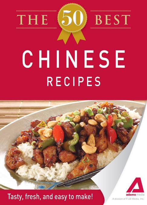 The 50 Best Chinese Recipes EB9781440534195