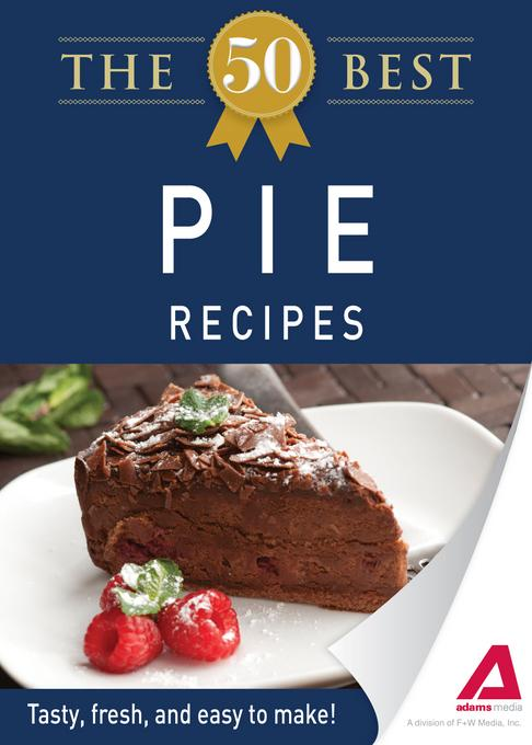 The 50 Best Pie Recipes EB9781440534416