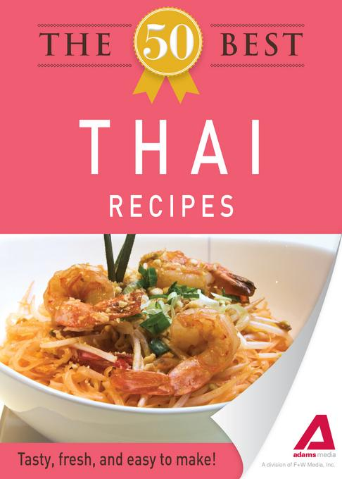The 50 Best Thai Recipes EB9781440534263