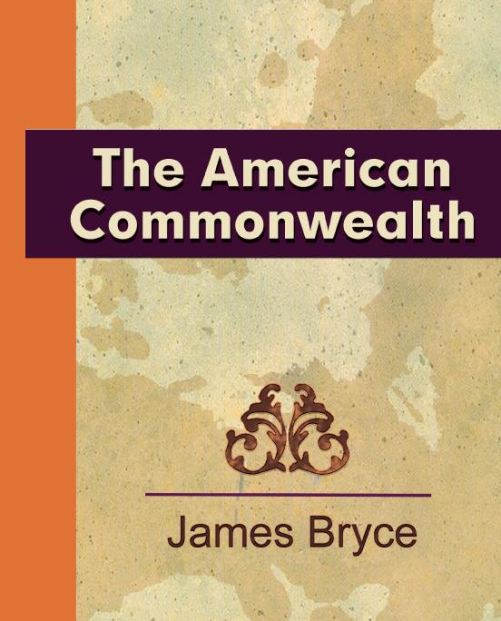 The American Commonwealth EB9781438538921