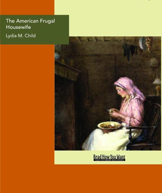 The American Frugal Housewife EB9781458703484