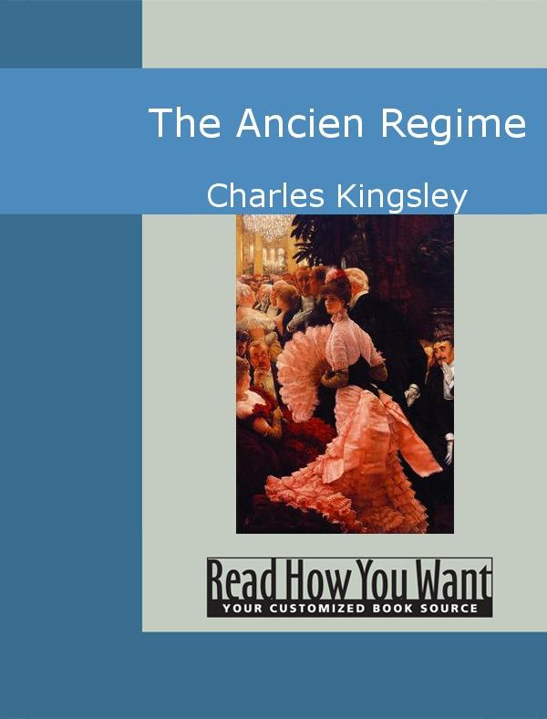 The Ancien Regime EB9781442936089