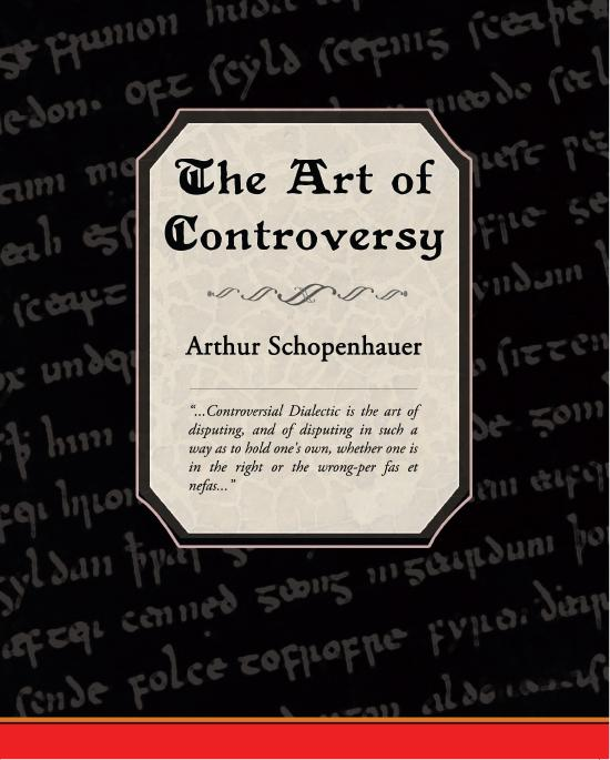 The Art of Controversy EB9781438547503