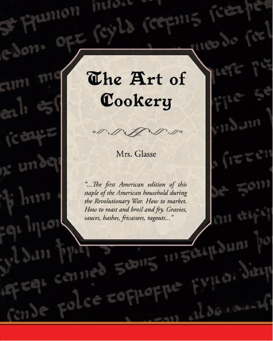 The Art of Cookery EB9781438552408