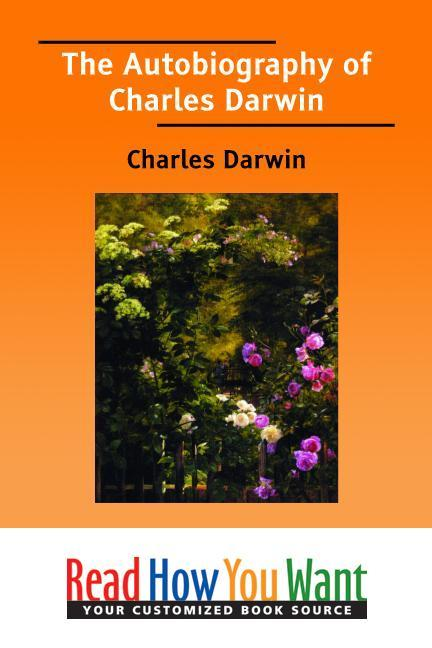 The Autobiography of Charles Darwin EB9781458709356