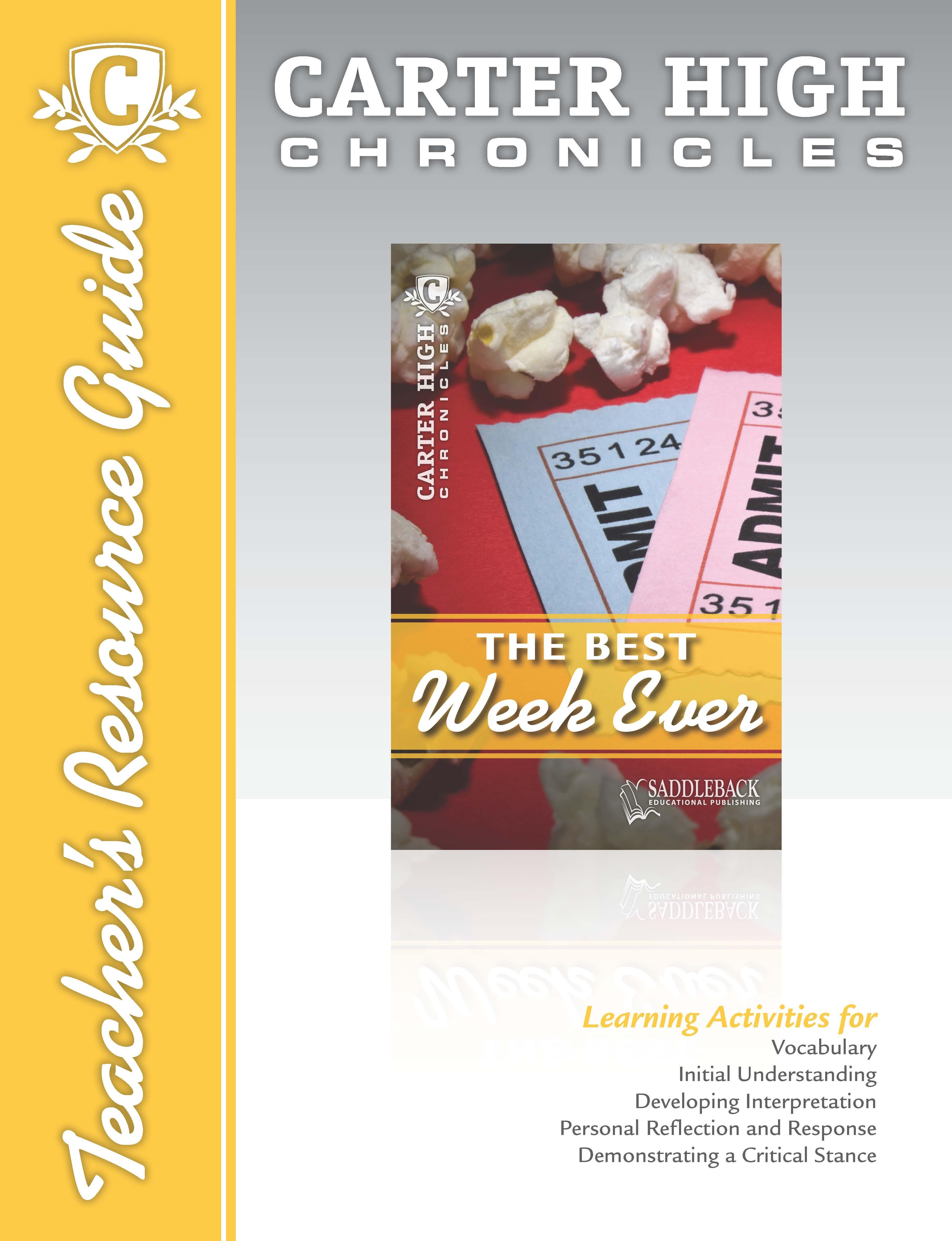 The Best Week Ever Teacher's Resource Guide EB9781602919624