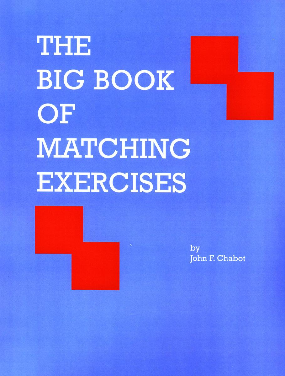 The Big Book of Matching Exercises EB9781926679310